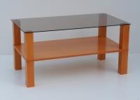 9A - kombinace masiv+dýha+sklo - sklo kouřové, čiré, mléčné